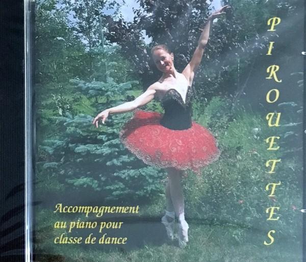 Musik CD Pirouettes für Ballettunterricht