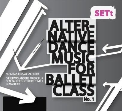 Musik-CD Sett No.1 Alternative Dance Music for Ballet Class