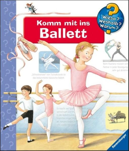 Buch Ravensburger 328550 Komm mit ins Ballett