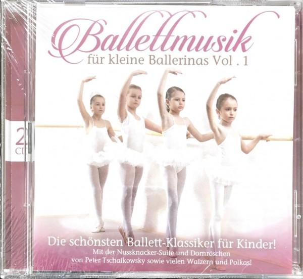 Musik CD ZYX 11010-2 Ballettmusik für kleine Ballerinas Vol.1