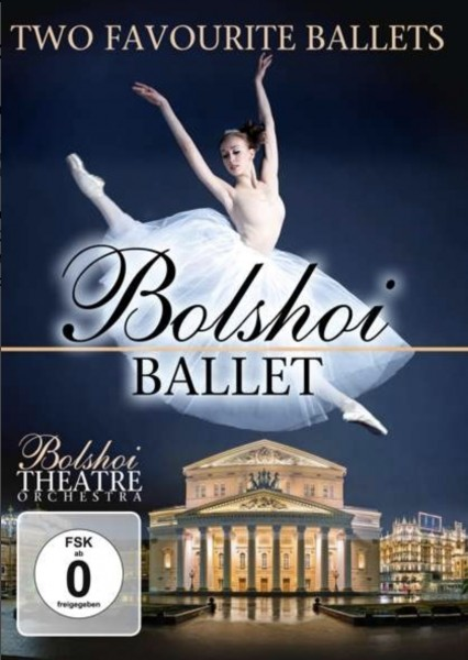 Ballett DVD ZYX 2007 Bolshoi 2 favorite Ballets