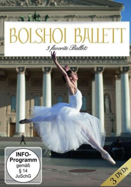 Ballett DVD ZYX 3006 Bolshoi Ballett 3 favorite Ballets